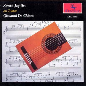 Scott Joplin on Guitar - Joplin / De Chiaro - Musik - CENTA - 0044747216324 - 1/9-1993