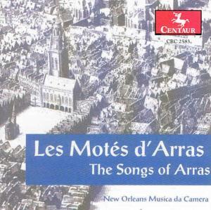 Les Motes D'arras - New Orleans Musica Da Camera - Musik - CENTAUR - 0044747258324 - 30/4-2014