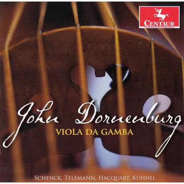 Viola De Gamba - John Dornenburg - Musik - CENTAUR - 0044747331324 - June 18, 2014