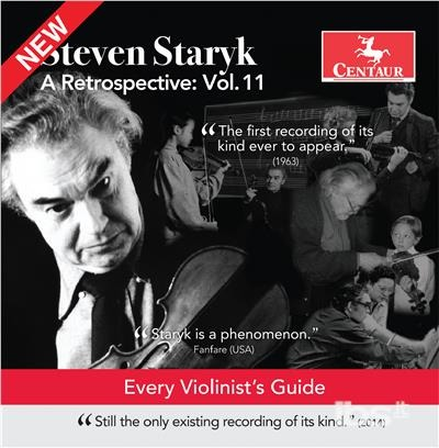 Retrospective / Every Violinist's Guide - Schubert / Staryk - Musik -  - 0044747357324 - 2/3-2018