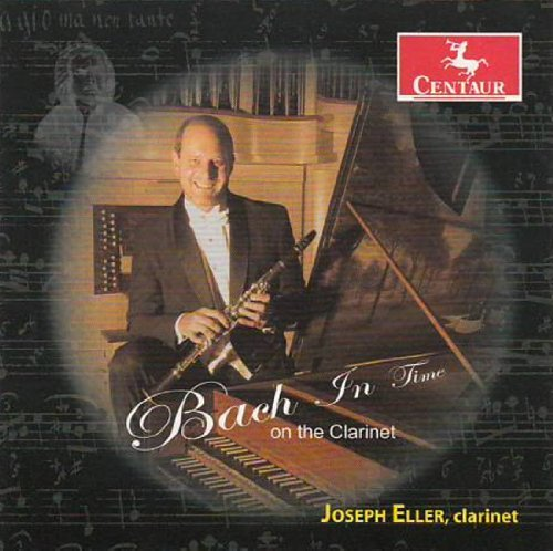 Bach in Time on the Clarinet - J.s. Bach - Musik - CENTAUR - 0044747318325 - 4/12-2012