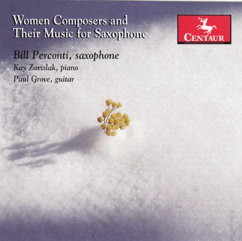 Women Composers and Their Music for Saxophone - V/A - Musik - CENTAUR - 0044747324326 - April 30, 2013