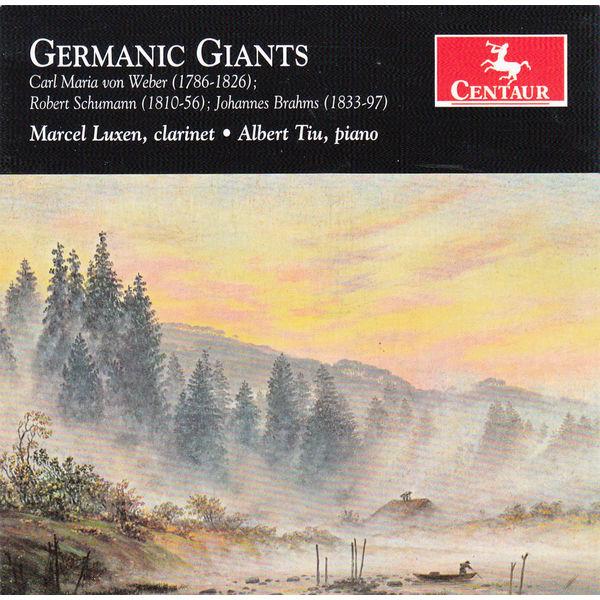 Germanic Giants - Marcel Luxen - Musik - CENTAUR - 0044747337326 - 27/1-2016
