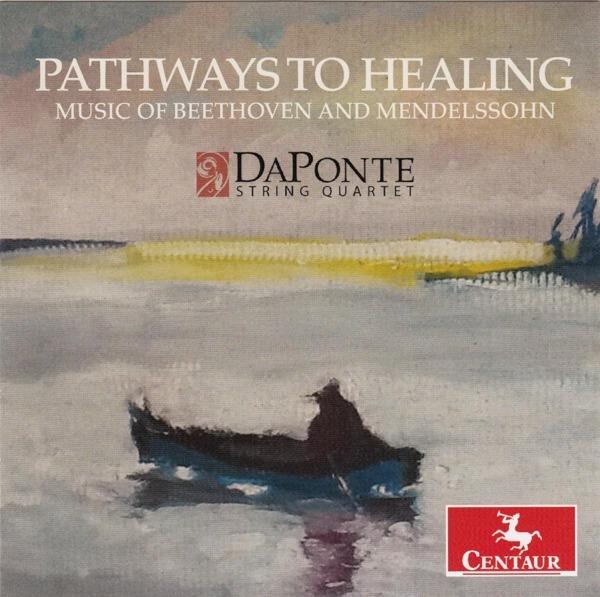 Pathways to Healing - Da Ponte String Quartet - Musik - CENTAUR - 0044747353326 - June 2, 2017