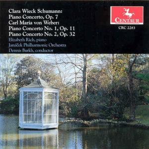 Piano Concert - Elizabeth Rich - Musik - CENTAUR - 0044747228327 - 1996