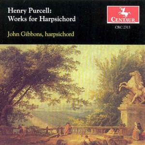 Works for Harpsichord - Purcell / Gibbons - Musik - CENTAUR - 0044747231327 - 1/6-1999