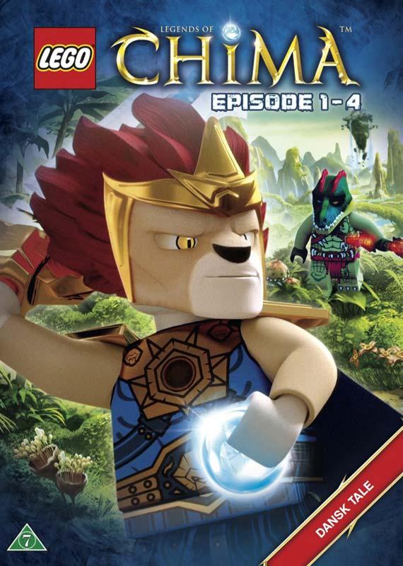 Lego Legends of Chima  1 - Episode  1-4 [dvd] - Lego Legends of Chima  1 - Film - hau - 5708758699327 - December 1, 2017