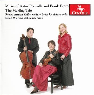 Muerte Del Angel - Piazzolla / Proto / Merling Trio - Musik - Centaur - 0044747276328 - 28/3-2006
