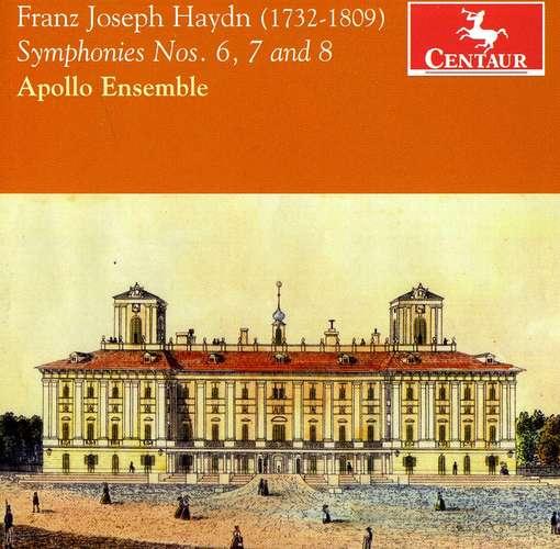 Symphonies No.6, 7 & 8 - Apollo Ensemble - Musik - CENTAUR - 0044747317328 - 21/3-2012