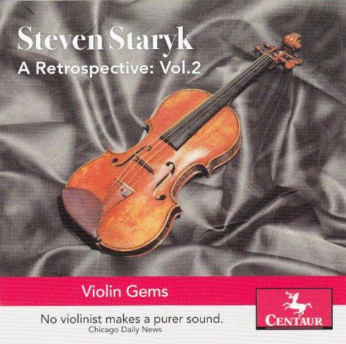 A Retrospective Vol.2 - Steven Staryk - Musik - CENTAUR - 0044747320328 - 7/7-2017
