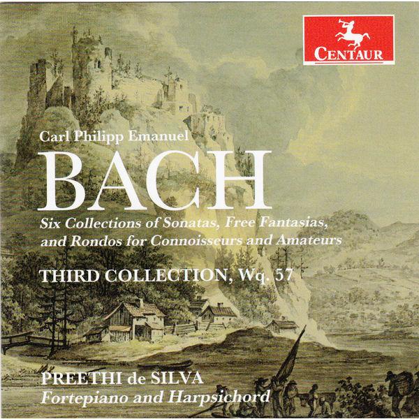 Third Collection Wq.57 - C.p.e. Bach - Musik - CENTAUR - 0044747333328 - 5/11-2014