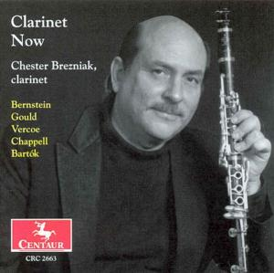 Clarinet Now - Chester Brezniak - Musik - CENTAUR - 0044747266329 - 9/9-2004