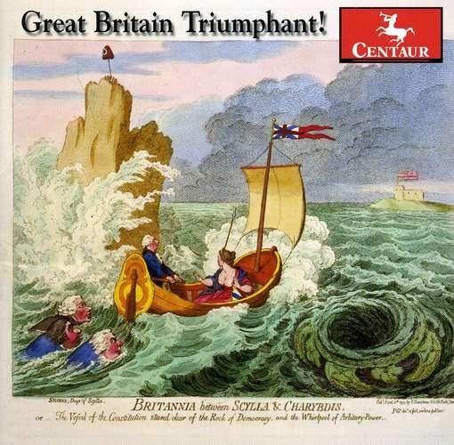 Great Britain Triumphant! - Capella Savaria - Musik - CENTAUR - 0044747307329 - March 21, 2012