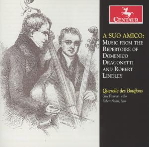 A Suo Amico - Querelle Des Bouffons - Musik - CENTAUR - 0044747323329 - October 15, 2012