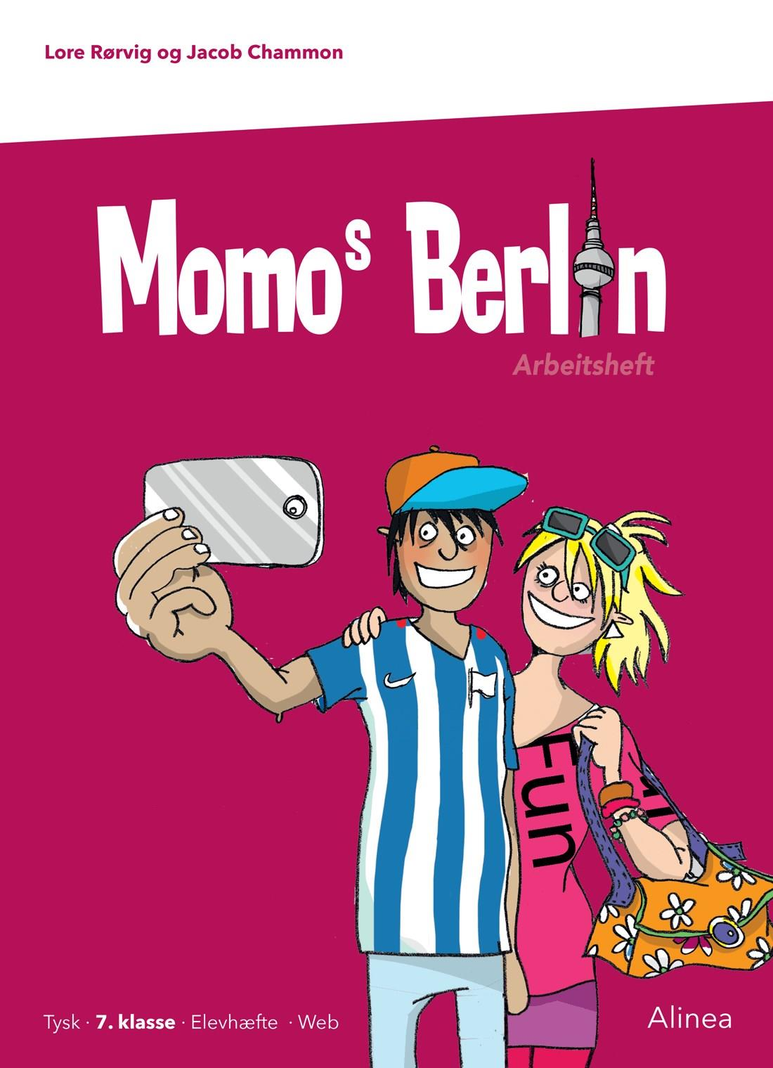 Momo: Momos Berlin, 7. kl., Arbeitsheft - Jacob Chammon; Lore Rørvig - Bøger - Alinea - 9788723540331 - 1/8-2019