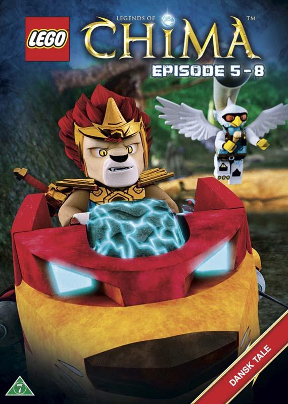 Lego Legends of Chima  2 - Episode  5-8 [dvd] - Lego Legends of Chima  2 - Film - hau - 5708758699334 - December 1, 2017