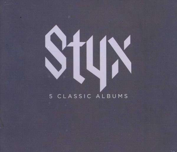5 Classic Albums - Styx - Musik - A&M - 0044003608337 - 2/10-2012
