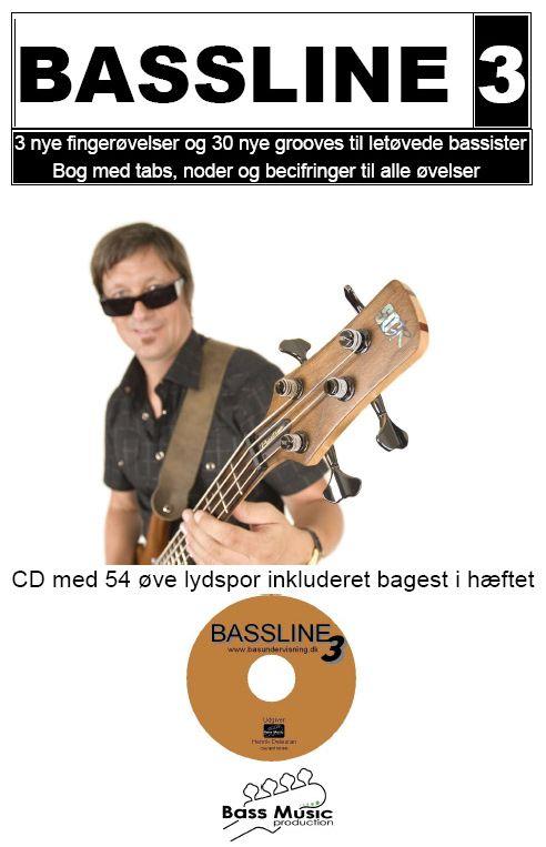 Bassline 3 - Henrik Deleuran - Musik - Bass Music Production - 5707471015339 - 26/11-2009