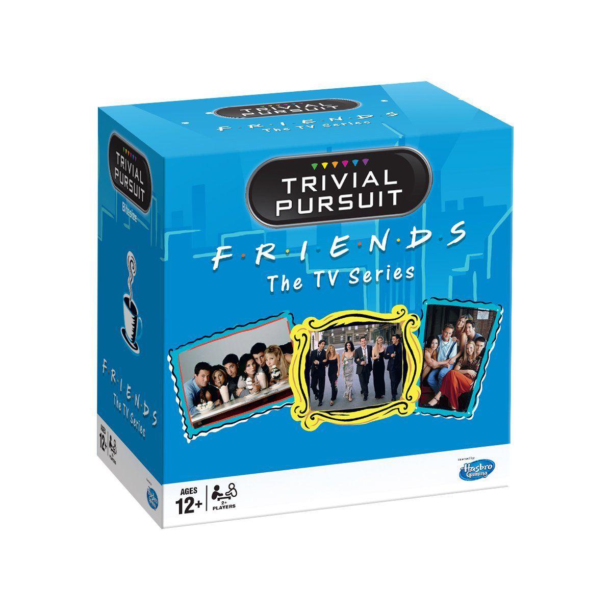 Trivial Pursuit – Friends (English) -  - Brætspil -  - 5036905027342 -