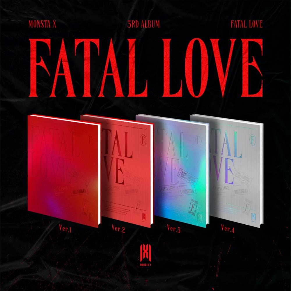 VOL.3 [FATAL LOVE] - MONSTA X - Musik -  - 8804775151347 - November 4, 2020