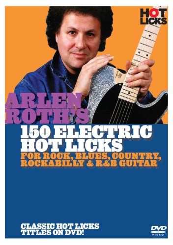 150 Electric Hot Licks - Arlen Roth - Film - HICKS - 0752187442349 - June 9, 2009