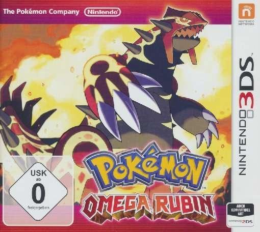 Pokémon Omega Rubin,3DS.2227140 -  - Bøger -  - 0045496526351 -