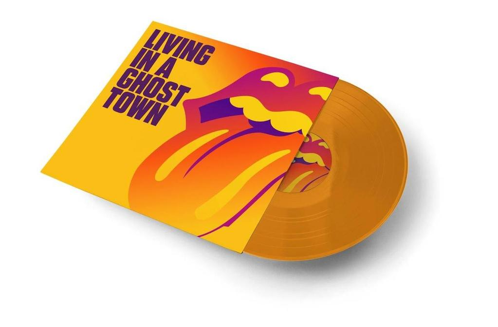 """Living in a Ghost Town (Ltd Orange 10"""") - The Rolling Stones - Musik - UNIVERSAL - 0602507148355 - 26/6-2020"""