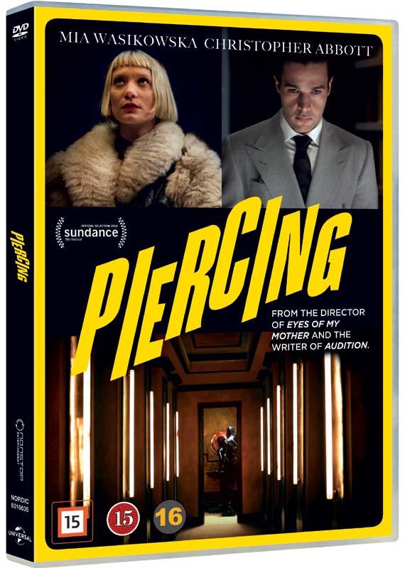 Piercing - Christopher Abbott - Film -  - 5053083166359 - February 14, 2019