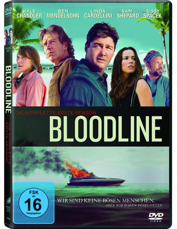 Bloodline.01,5DVD.0374536 -  - Bøger -  - 4030521745360 - 24/3-2016
