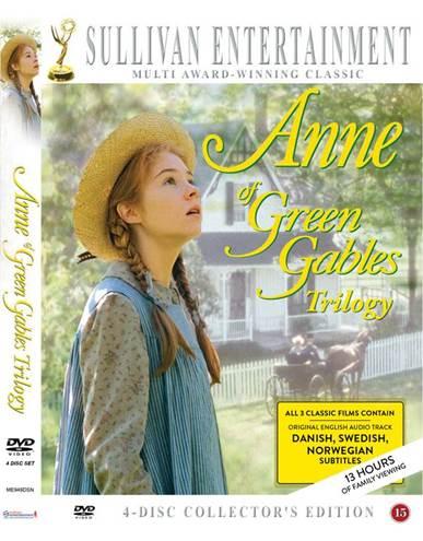 Anne fra Grønnebakken Trilogi (Anne of Green Gables Trilogy) -  - Film -  - 5019322880363 - 1/11-2018