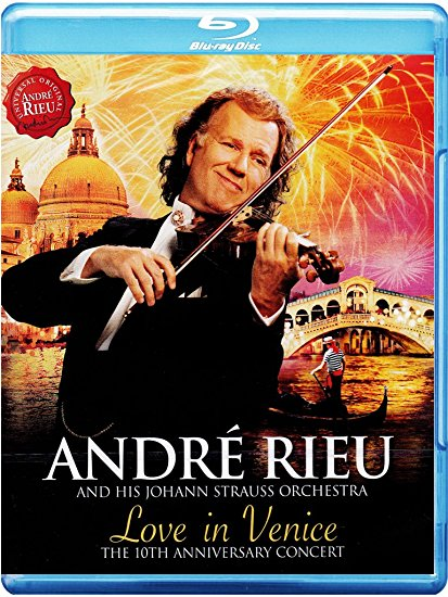 Love In Venice - André Rieu - Film - Pop Strategic Marketing - 0602537946365 - 3/11-2014