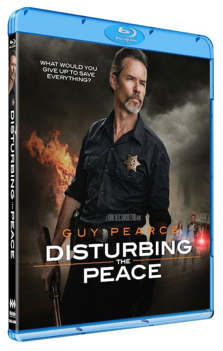 Disturbing the Peace - Guy Pearce - Film -  - 5705535066365 - June 14, 2021