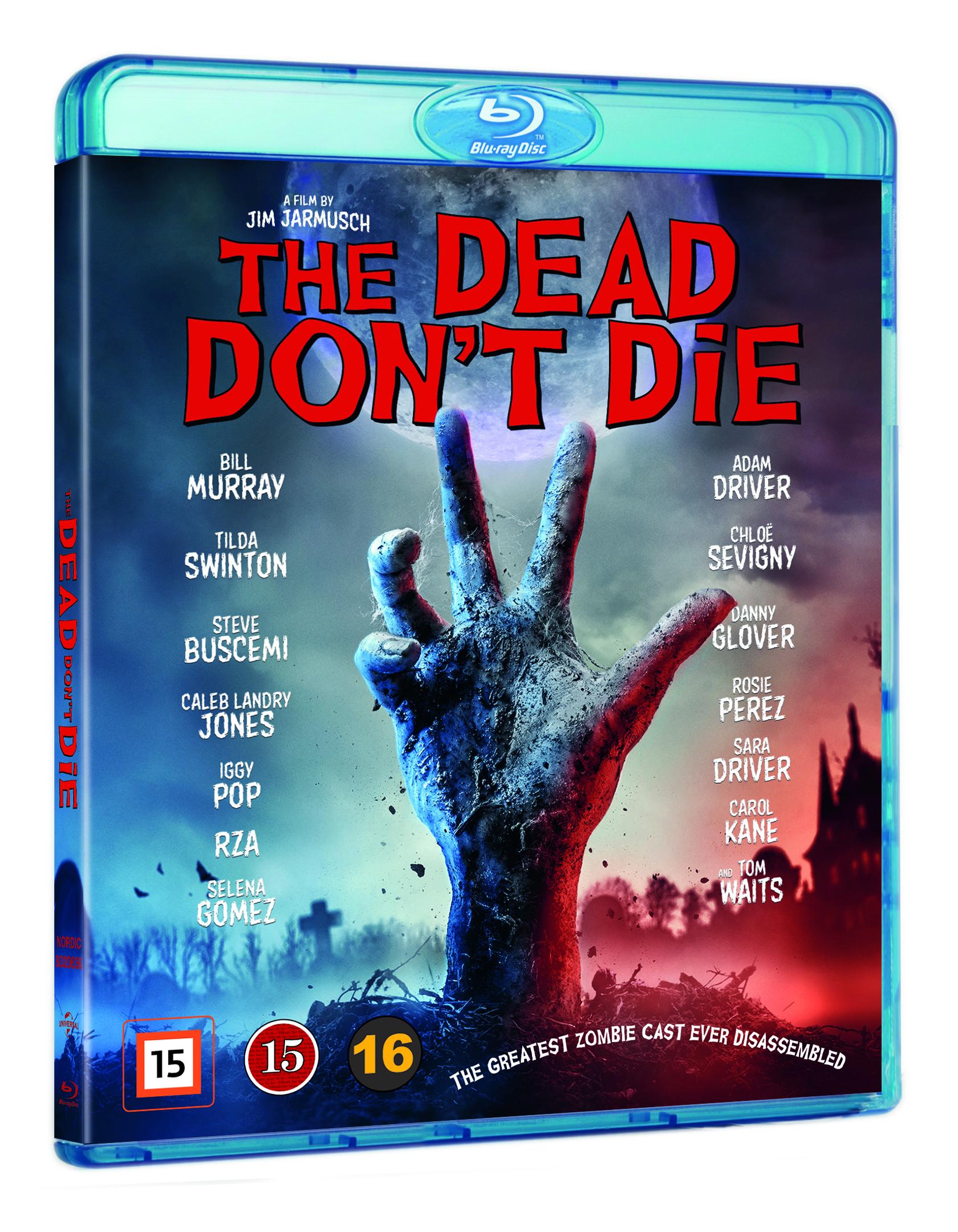 The Dead Don't Die - Jim Jarmusch - Film -  - 5053083206369 - 16/1-2020