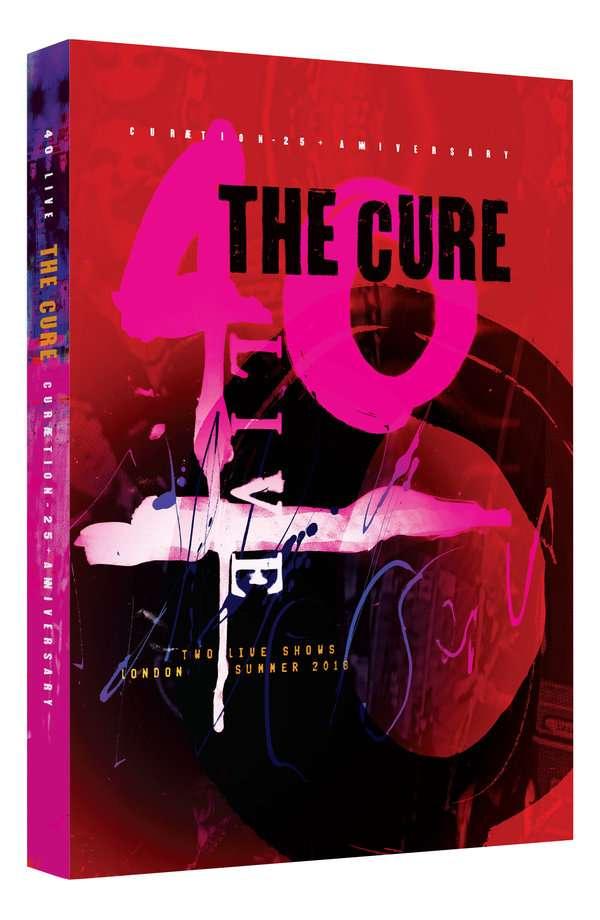 40 Live - Curaetion-25 - The Cure - Film - EAGLE ROCK ENTERTAINMENT - 5051300540371 - 18/10-2019