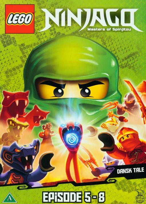 LEGO Ninjago - Del 2, episode 5-8 - LEGO Ninjago - Film -  - 5708758695381 - September 25, 2012