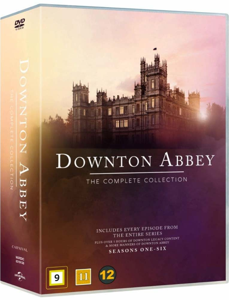 Downton Abbey - The Complete Collection - Downton Abbey - Film -  - 5053083191382 - August 5, 2019