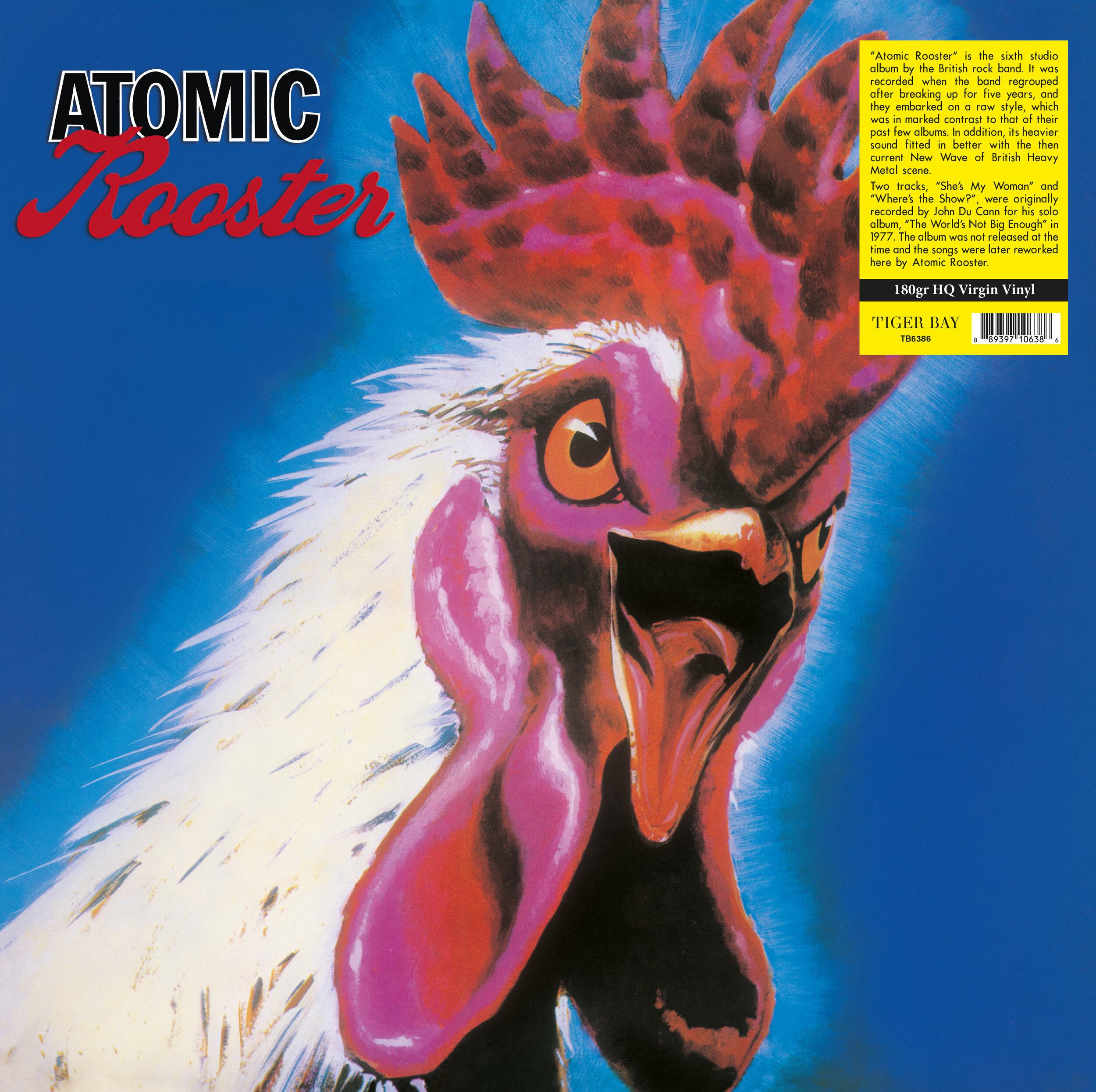 Atomic Rooster - Atomic Rooster - Musik - TIGER BAY - 0889397106386 - 18. juli 2019