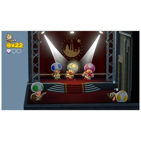 Captain Toad,Treas.Tr.Switch.2523640 -  - Bøger -  - 0045496422387 - 13/7-2018