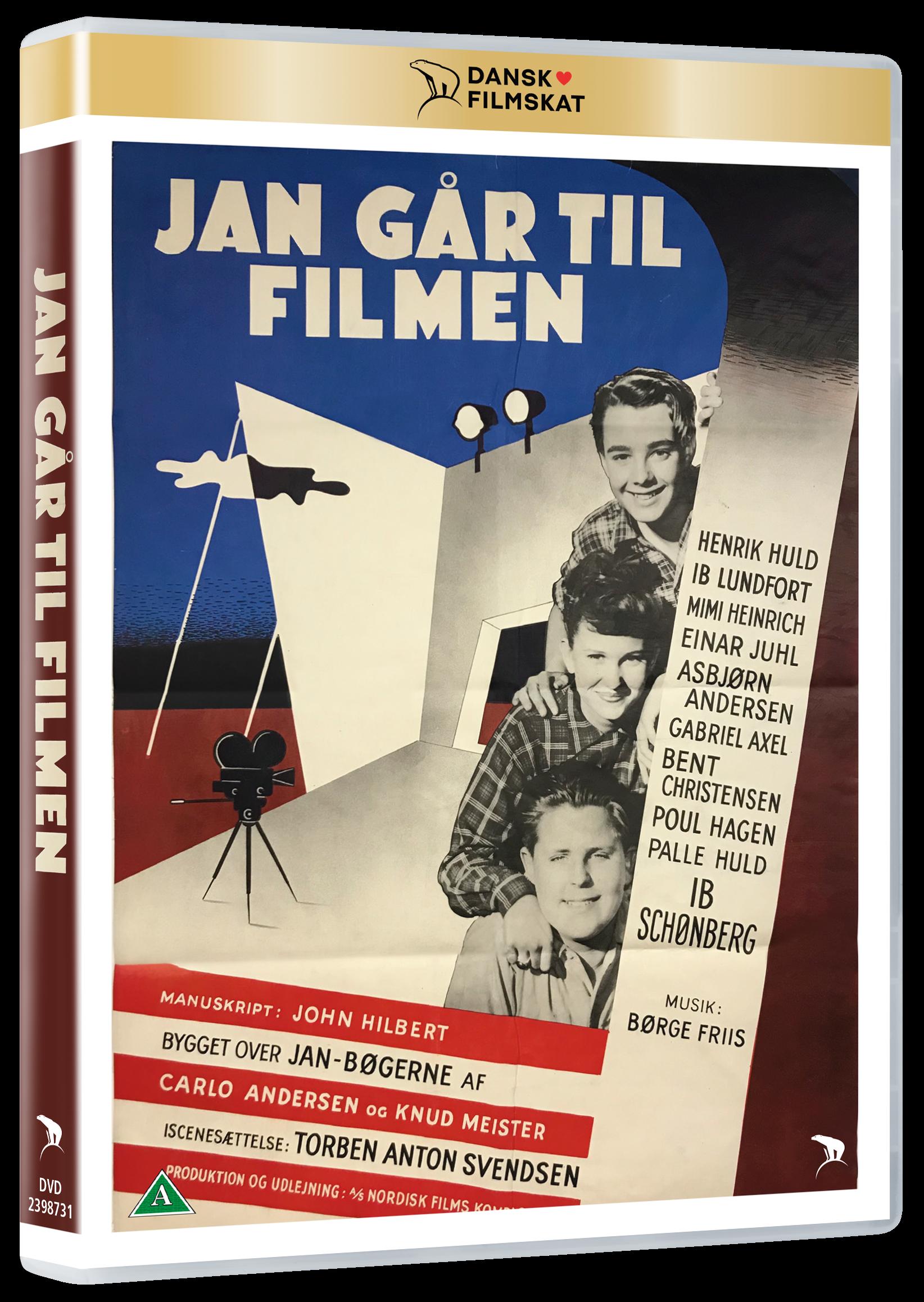 Jan Går Til Filmen -  - Film - Nordisk Film - 5708758725392 - May 6, 2021