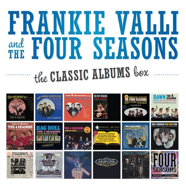 The Classic Albums Box - Frankie Valli and The Four Seasons - Musik - RHINO - 0081227959395 - 30/6-2014