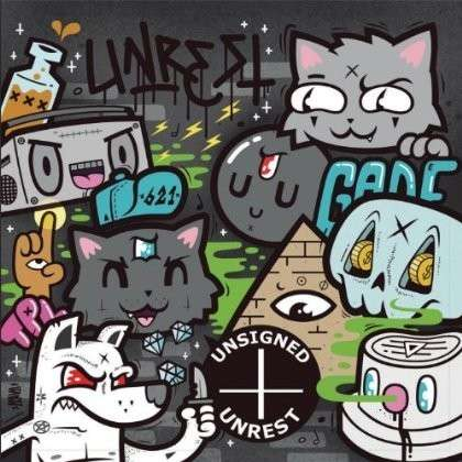 Unsigned / Unrest / Various - Unsigned / Unrest / Various - Musik - Broken Heart Records - 0045635373402 - 12/2-2013