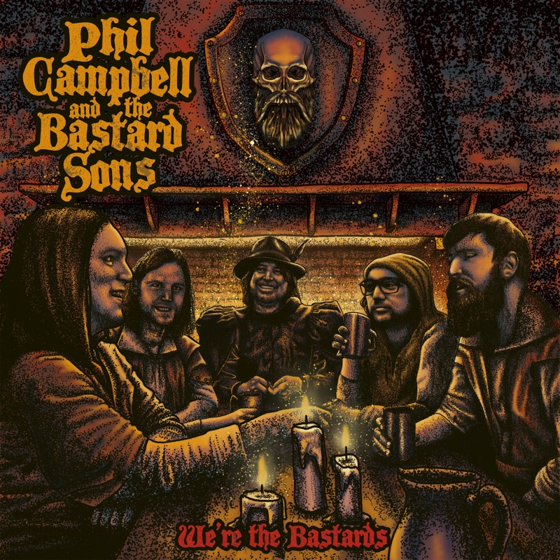 We're the Bastards - Campbell, Phil and the Bastard Sons - Musik - NUCLEAR BLAST - 0727361555405 - November 13, 2020