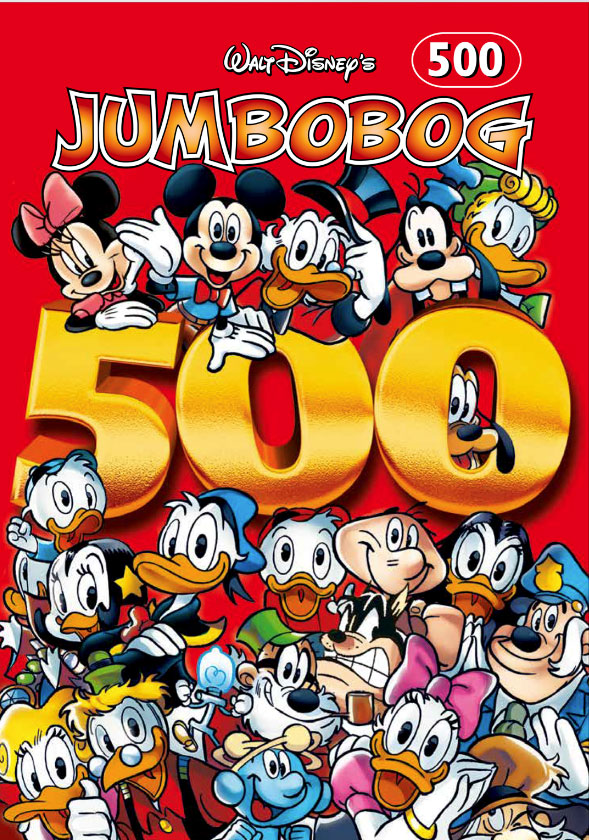 Jumbobog 500 - Disney - Bøger - Story House Egmont - 9788793840409 - April 12, 2021