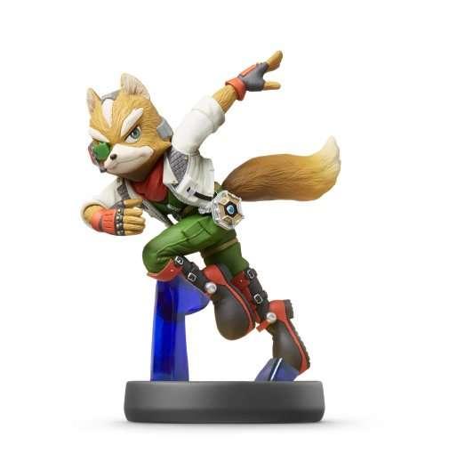 Amiibo Smash Fox,figur.1066966 -  - Bøger -  - 0045496352417 -