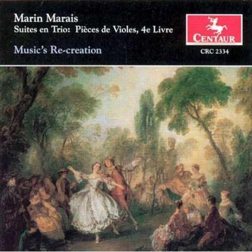 Suites en Trio:pieces De - M. Marais - Musik - CENTAUR - 0044747233420 - 7/6-1999