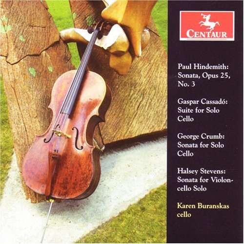 Sonata Op 25 No.3 - Hindemith / Cassado / Crumb / Stevens / Buranskas - Musik - Centaur - 0044747288420 - March 25, 2008