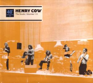 Studio: Vol. 1-5 - Henry Cow - Musik - RER - 0752725026420 - February 11, 2019
