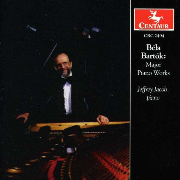 Major Piano Works - Bartok / Jacob - Musik - CENTAUR - 0044747249421 - 27/3-2001