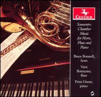 Souvenirs: Chamber Music Horn Flute & Piano - Ewazen / Telemann / Doppler / Muller / Bach - Musik - Centaur - 0044747294421 - June 24, 2008