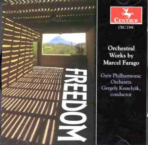 Orchestral Works: Acousticon / Symphony Op 61 - Farago / Gyor Ph Orch / Kesselyak - Musik - Centaur - 0044747239422 - 12/8-2000